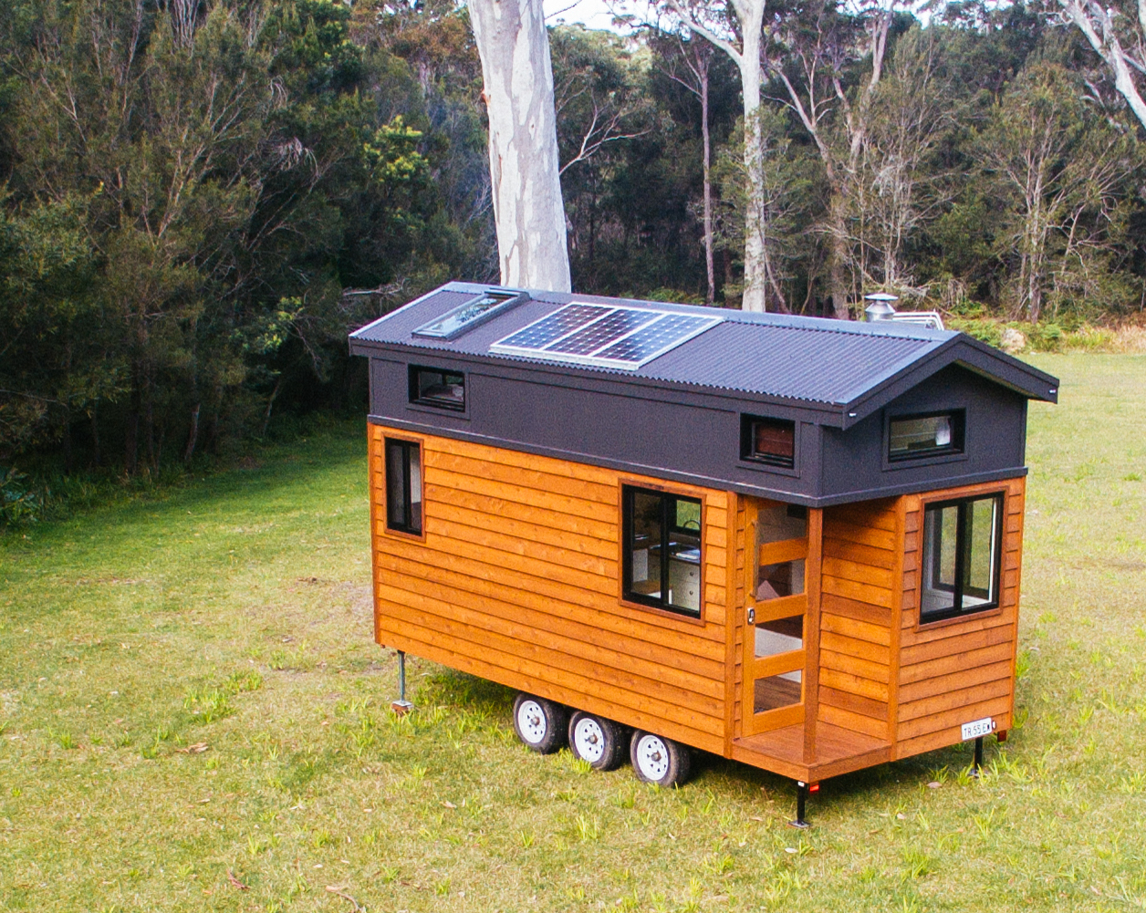 Off Grid Upgrades for Designer Eco Tiny Homes