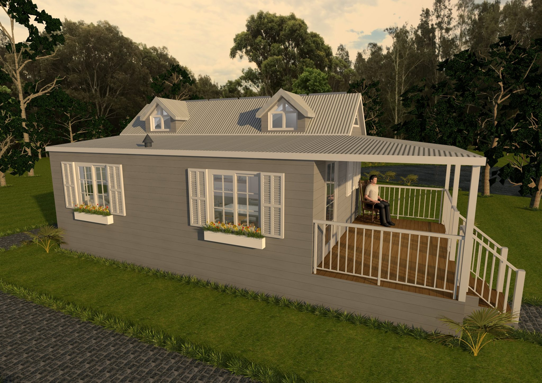 1 Granny Flat Series 60SMDL Exterior View