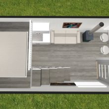 Graduate Series 6000DL Loft Plan
