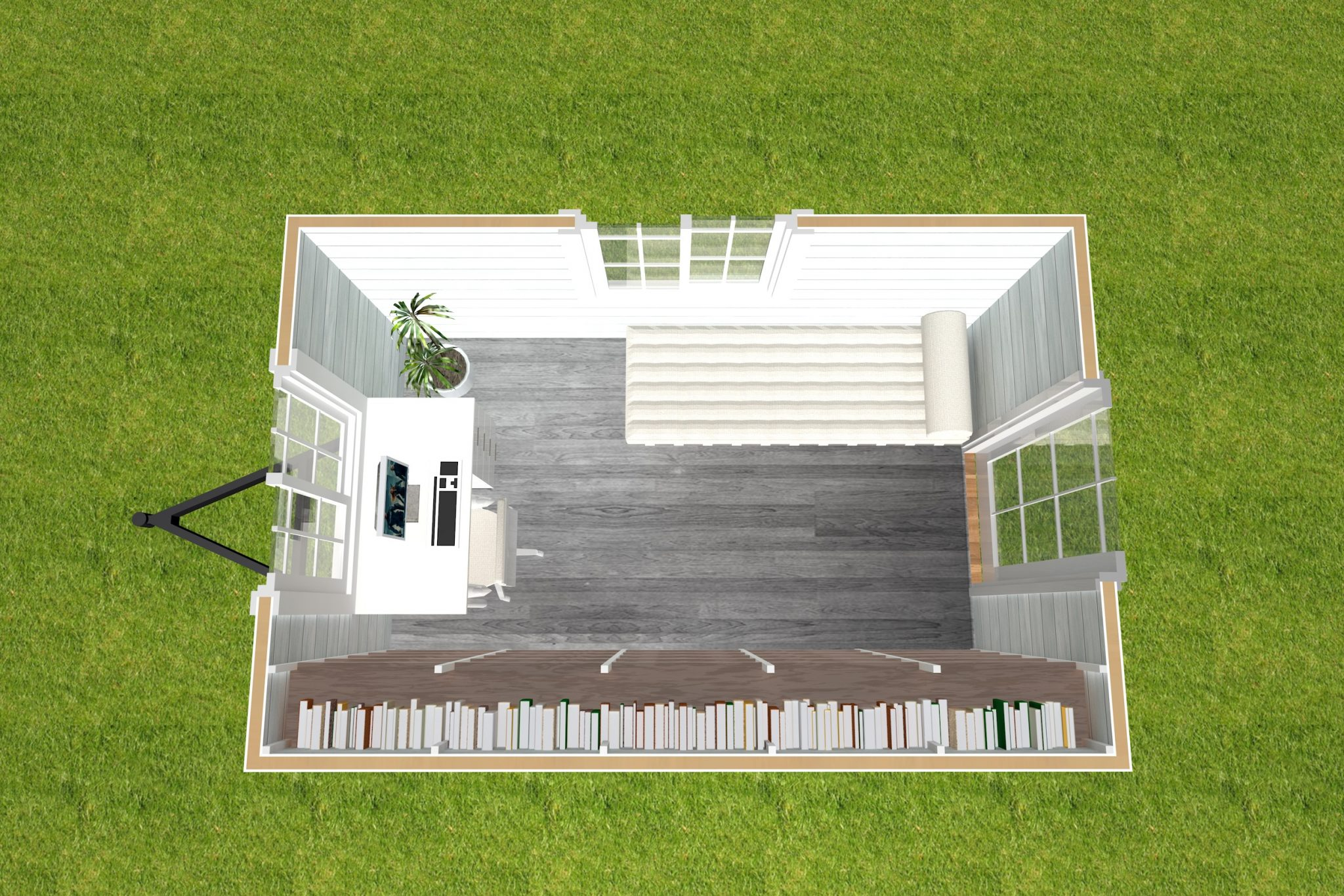 4 Studio Series - 3600 Interior View
