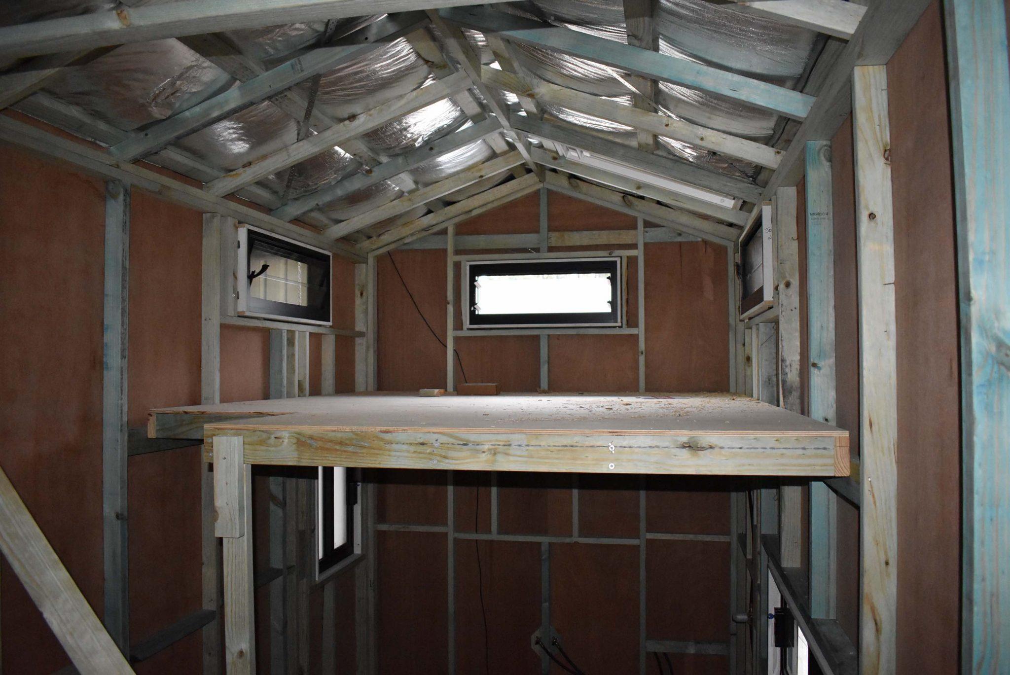 Studio Series 3600SL Interior During Construction
