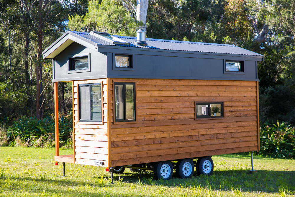 Designer eco homes australia builder of tiny houses in for Small sustainable homes