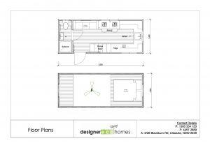 Graduate Series 6000DL Tiny House Floor Plan