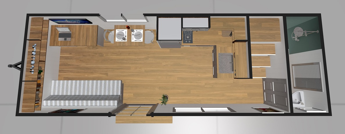Lifestyle Series 7200DL Ground Floor