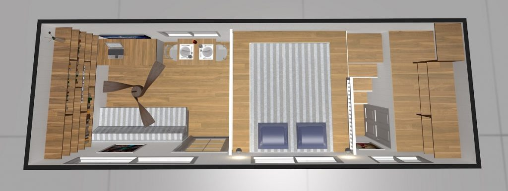 Lifestyle Series 7200DL Loft Plan