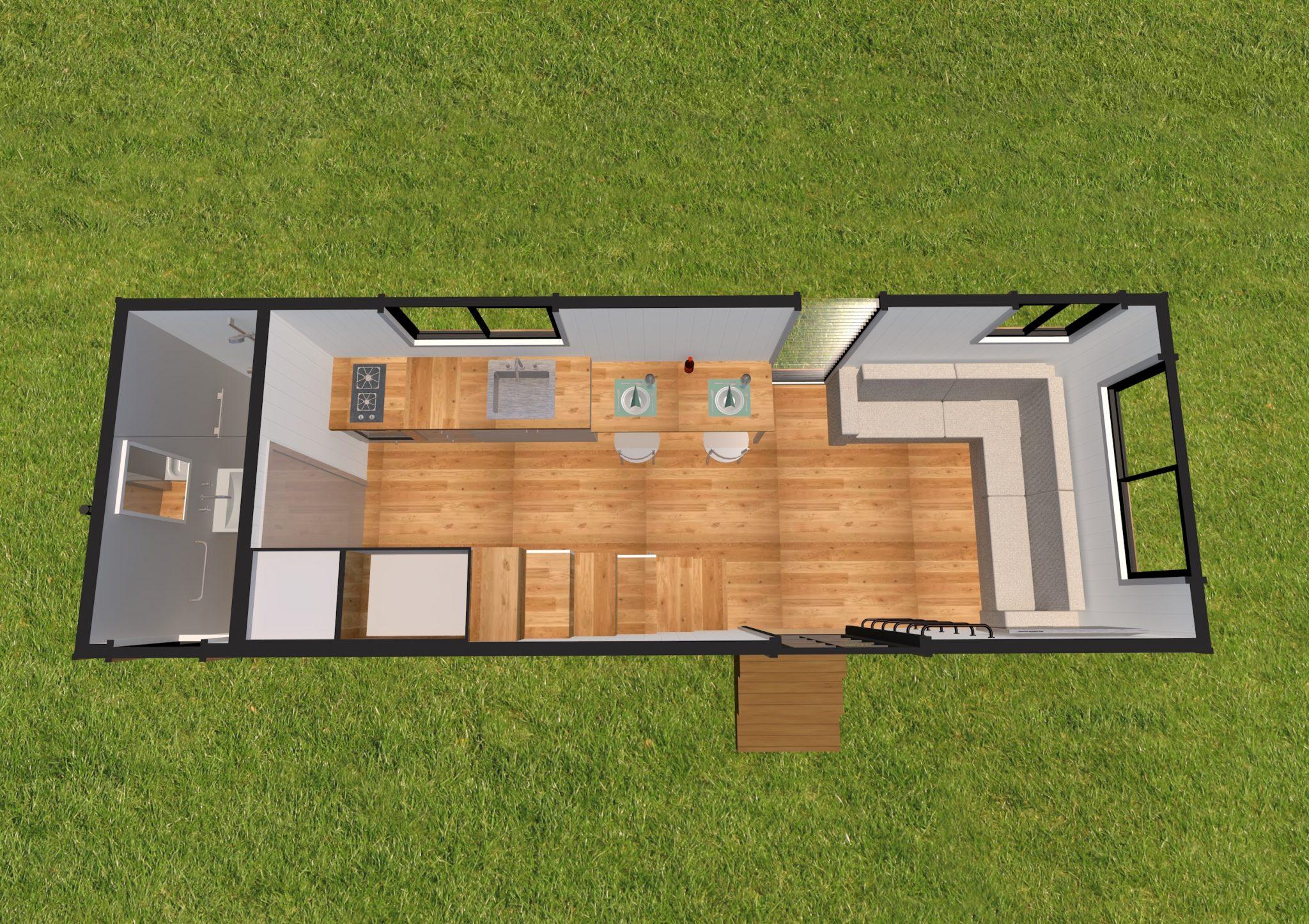 Lifestyle Series 7200DL Base Model Ground Floor