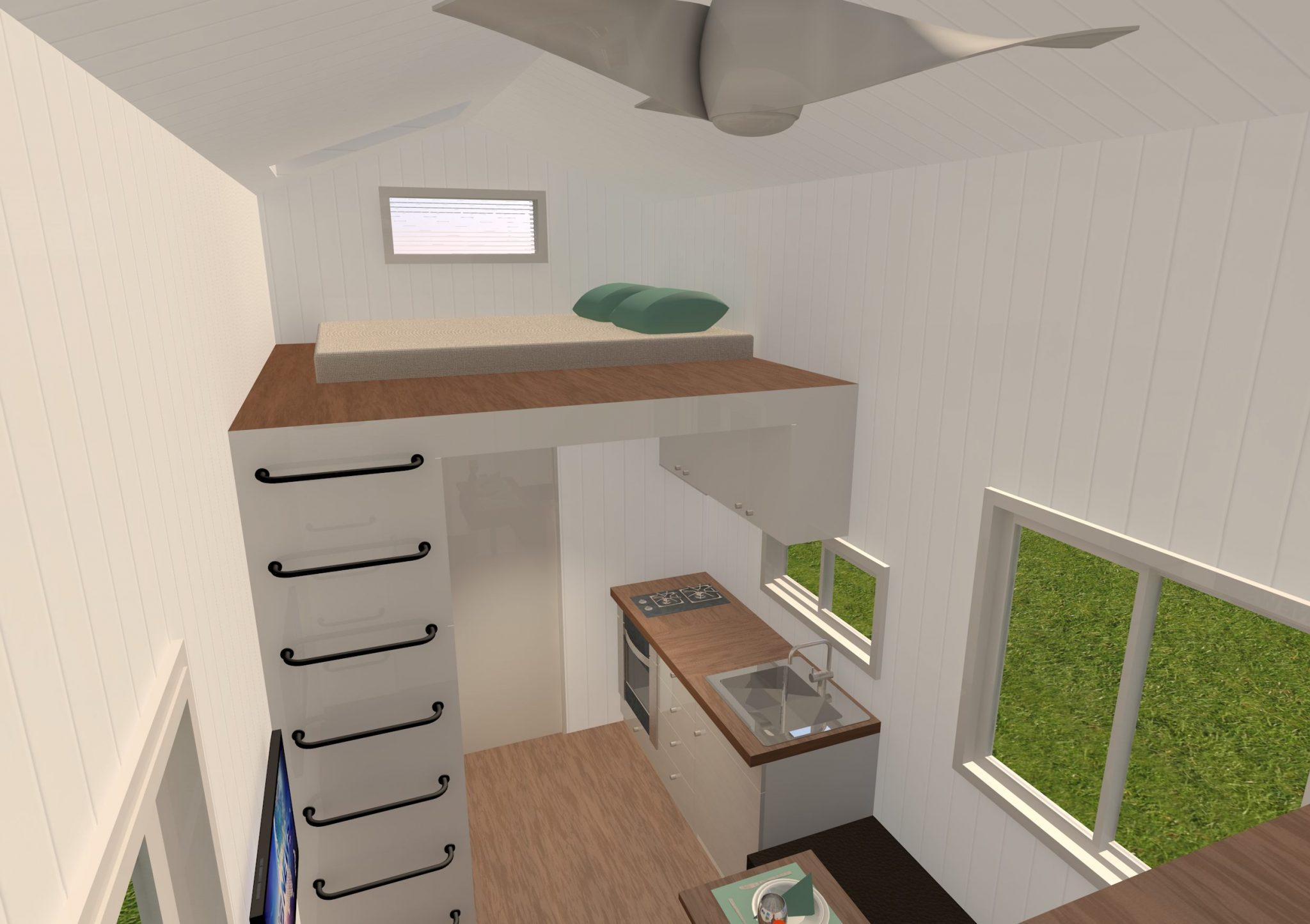 Lifestyle Series 7200GB Interior kitchen