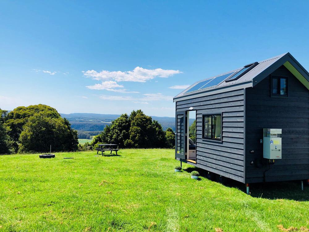 tiny homes for rent australia designer eco tiny homes. Black Bedroom Furniture Sets. Home Design Ideas