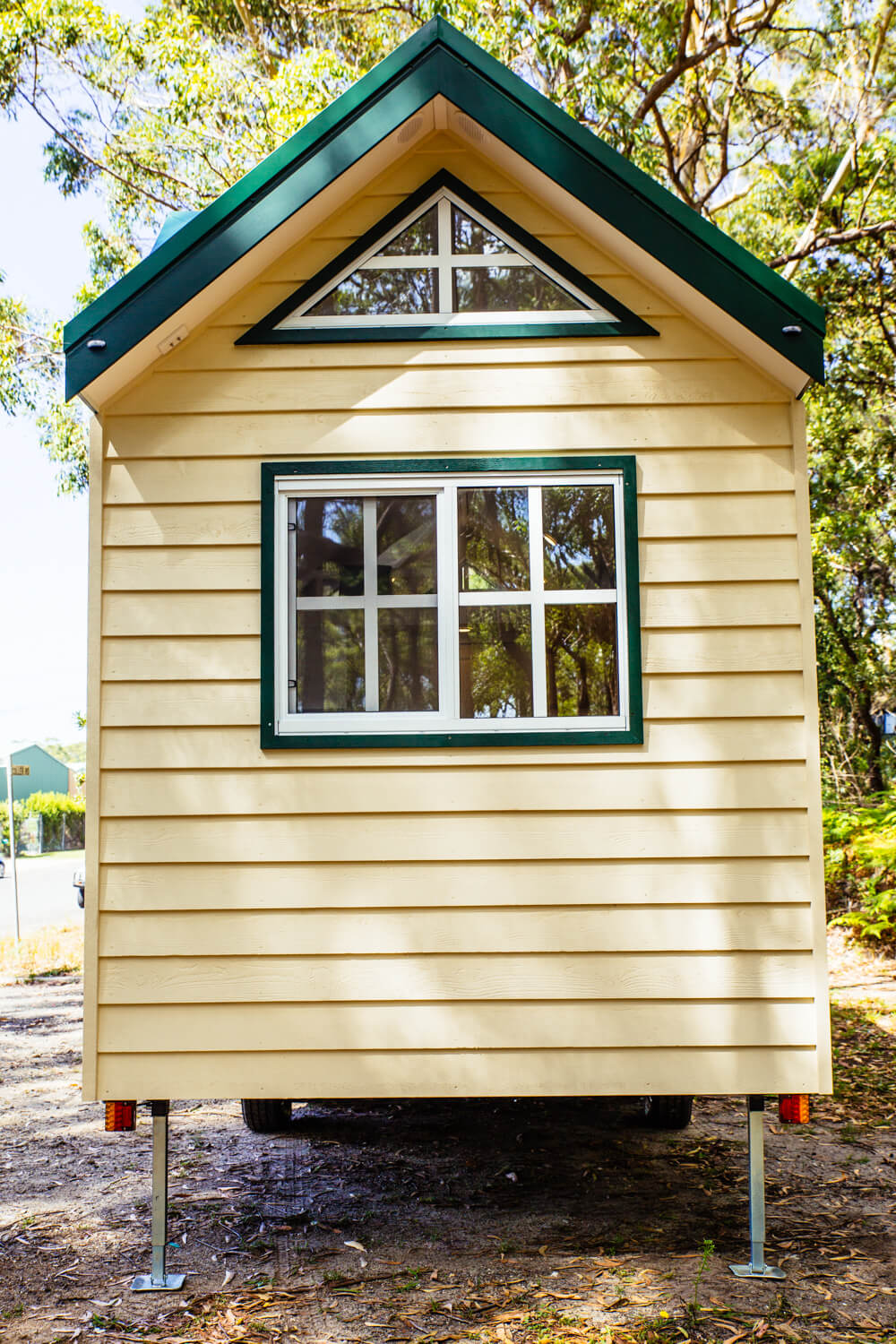 Lifestyle Series 7200SLC Tiny Home Outside Rear